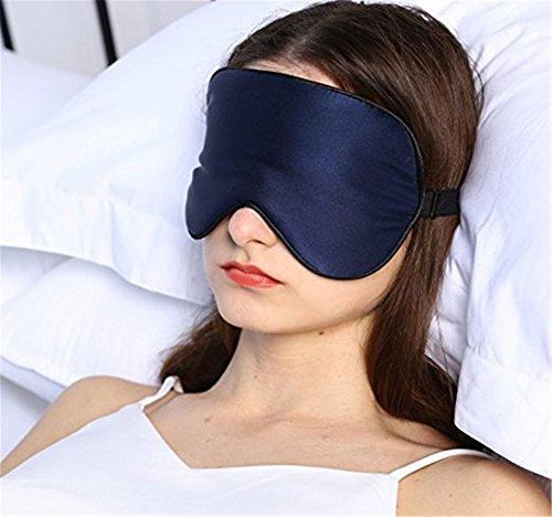 cinoyoni groß 100% Mulberry Seide Schlafmaske & Augenbinde, Super Weichen Augenmaske (4Farben)