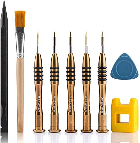 MacBook Screwdriver Repair Kit With Pentalobe 1.2 Torx T5/ T6 Tri-wing Phillips for MacBook Air/Pro With Retina (All Version)
