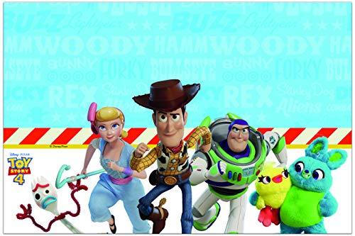 Manteles de plástico Toy Story 4 multicolor