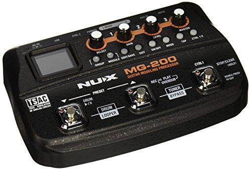 pedalera multiefectos boss me 80 fabricante NUX
