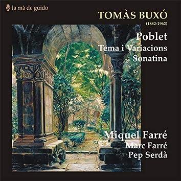 Tomàs Buxó: Poblet