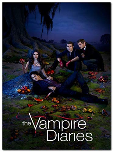 The Vampire Diaries Tv Series Poster (13 x 19 inch / 33 x 48 cm) unframed, Display Ready Photo Print