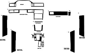 Rvinyl Rdash Dash Kit Decal Trim for Volvo 850 1993-1997 - Carbon Fiber 4D (Silver)