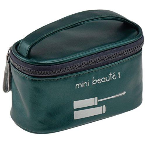 Incidence Paris 61827 Vanity mini Colorama Mini beauté, H9 x 8 x 14,5 cm, vert (Vert figuier)