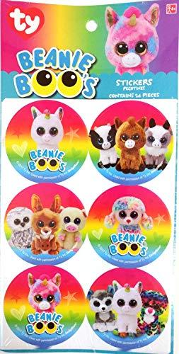 Beanie Boos Sticker Badges - 24 pcs