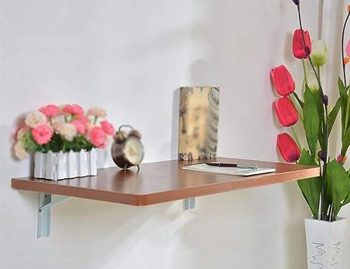 mejor precio Wghz Mesa Plegable Mesa de Parojo Colgador Colgador Colgador de Parojo Escritorio de computadora Mesa de Comedor Plegable Mesa de balcón de Cocina contra la Parojo Mesa de Comedor, Tamaño Opcional (Color  B, Tamaño   100% precio garantizado