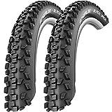 2 x Schwalbe Black Jack Draht Reifen 24 x 2,10 | 54-507 schwarz