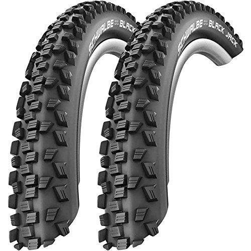 2 x Schwalbe Black Jack Draht Reifen 24 x 2,10   54-507 schwarz