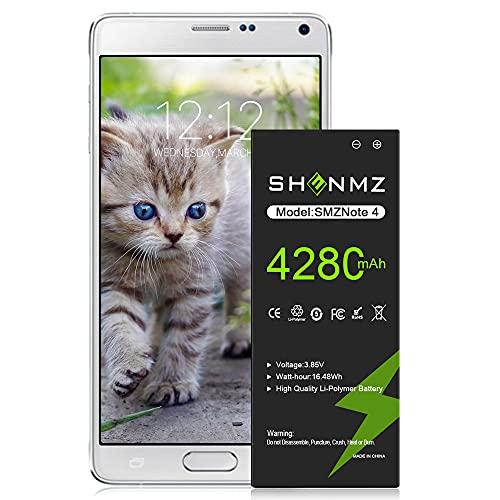 Galaxy Note 4 Battery,[Upgraded] 4280mAh Li-ion Replacement Battery...