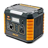 BALDR Portable Power Station 330W, Portable Solar Generators for home use, CPAP Backup Battery with QC3.0&TypeC SOS Flashlight and...