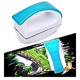 magnético pecera Cepillo para acuarios,Limpiador de Vidrio para acuarios, Cepillo Limpio Flotante con diseño de Mango