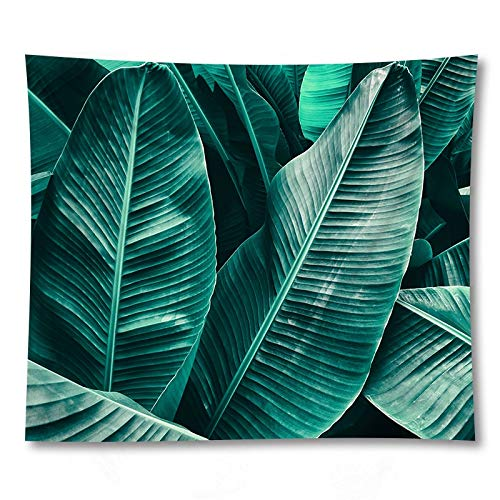 WERT Simple leaf tapestry room wall rectangular tapestry artist home wall decoration tapestry background cloth A9 130x150cm