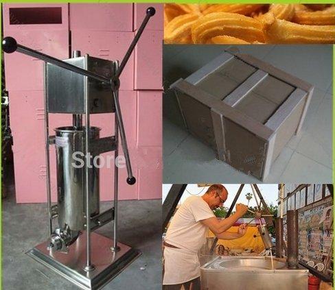 10L manuel espagnol Churros machine à pain Commercial Outil Professionnel de machine à Churros de cuisine cuisson Pâtisserie CE