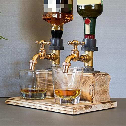 Dispensador De Madera Para Whisky, Dispensador De Licor En Forma De Grifo, Dispensador De Licor Alcohol Whisky Madera, Para Barras De Cenas De Fiesta Del Día Del Padre