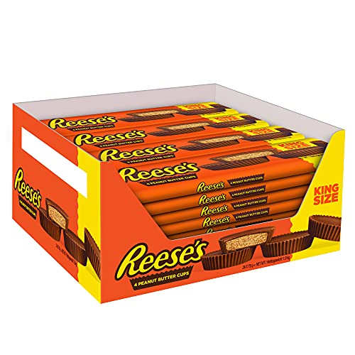 Reese's Peanut Butter Cups King Size, 24er Pack (24 x 77 g)