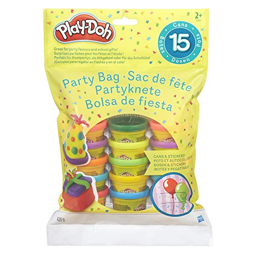 Play-Doh, multicolor, Pack 15 Mini Botes (Hasbro 18367EU4)