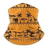 Bufanda sin costuras Bandanas Safari étnico africano Moda Balaclava Bufanda...