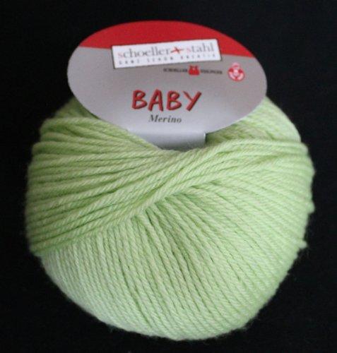 Baby Merino Schoeller + Stahl Merinoschurwolle Babywolle 25 g Farbe 3939-kiwi
