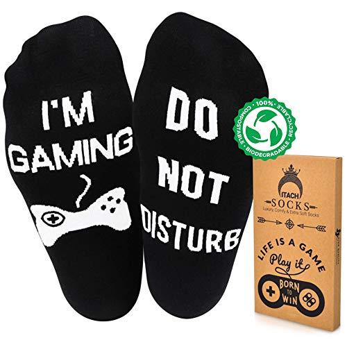 Do Not Disturb Im Gaming Socks