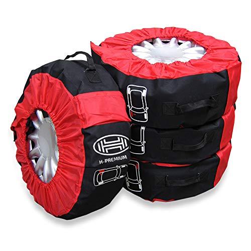 HEYNER Reifentaschen 14-18 Zoll (4er-Set) Premium Reifen Aufbewahrung