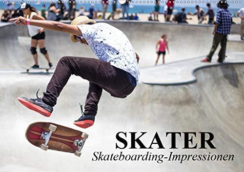 Skater. Skateboarding-Impressionen (Wandkalender 2021 DIN A2 quer)