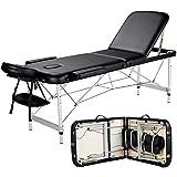 Best Massage Tables - Yaheetech Massage Table Portable Massage Bed 3 Folding Review