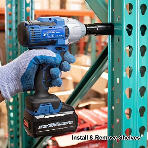 Kinswood 20V Max 2200RPM 480Nm 1/2