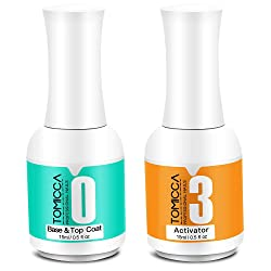 2 in 1 Dip Powder Top & Base Coat and Activator