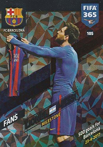 Panini 105. Lionel Messi (FC Barcelona) - Milestone