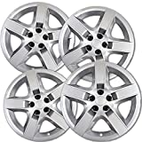 OxGord Hub-caps for 15-16 Subaru Legacy (Pack of 4) Wheel Covers 17 inch Snap On Silver