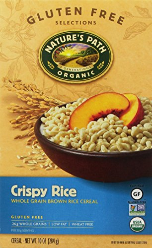 Nature's Path | Cereal-Crispy Rice (Organic) 10 Oz [Gluten Free] [1 Pack]