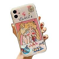 IPhone12pro maxケース 美少女戦士 セーラームーン IPhoneケース 漫画 スマホケース 携帯カバー キャラクター 耐衝撃 脱着簡単 かわいい 軽量 プレゼント 友達集まり
