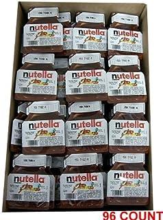 Nutella ヌテラ ヘーゼルナッツチョコレート18g×96個入り 並行輸入品