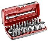 Coffret Cliquet compact flex serrage/vissage 1/4'' R1PICO Facom