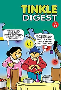 Tinkle Digest 34 by [ANANT PAI]