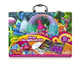 Crayola 1836532 Dreamworks Trolls Glitter Scrapbook Kit, 115+ Pieces Art Gift for Kids 5 & Up, Includes Crayons, Markers, Colored Pencils
