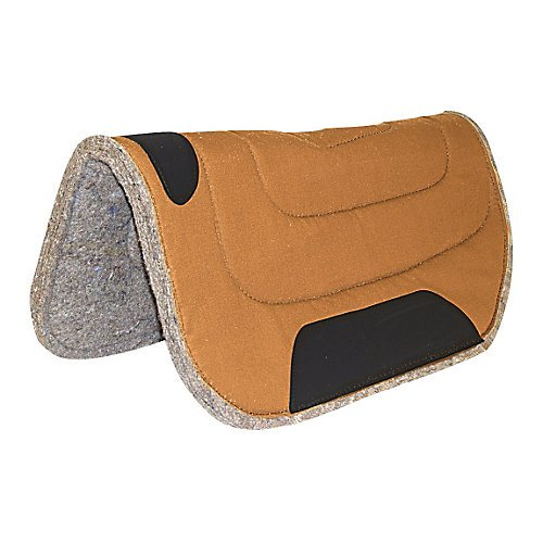 Mustang Saddlery Canvas Arbeitspad Round