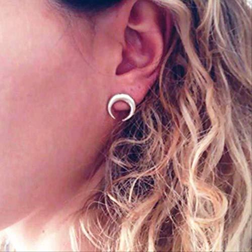 Oorbellen vakantie onbalans cafeïne molecuul structuur oorbellen voor vrouwen eenvoudige kleineoorstekers e058 zilver