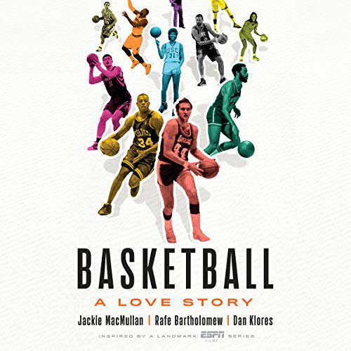 Basketball audiobook cover art