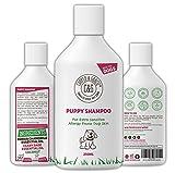 C&G Pets | Champú para Cachorros de 500 ml | para Perros con picazón de Piel Sensible, acondicionador medicado Seguro para Cachorros | eficaz para la Piel del Perro con alergia