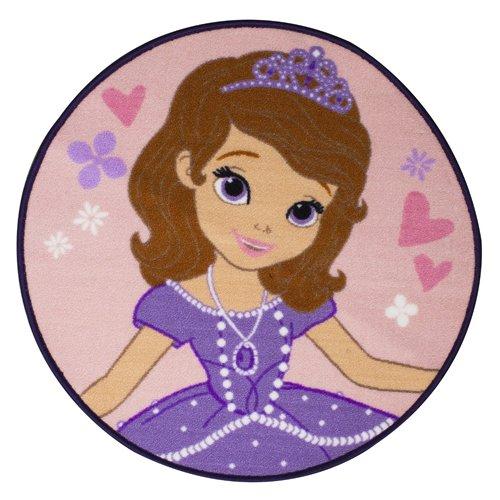Disney Character World Sofia la Primera Academia Alfombra con Forma