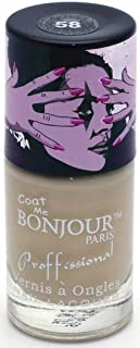 Bonjour Paris Nude Nail Lacquer, Natural Beige, 18ml