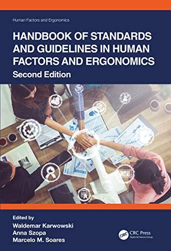 Handbook of Standards and Guidelines in Human Factors and Ergonomics