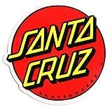 Skateboard Sticker mit Santa Cruz Logo Mdium