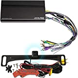 Alpine KTA-450 4-Channel Power Car Amplifier Amp with Backup Camera for iLX-W650