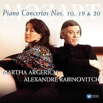 Mozart: Pianos Concertos Nos 10, 19 & 20