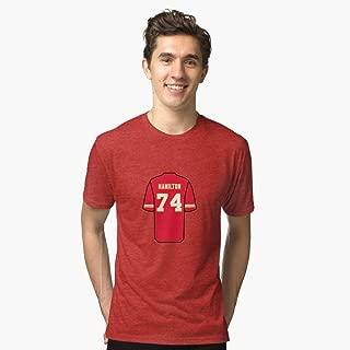 Justin Hamilton Jersey Tshirt chiné.