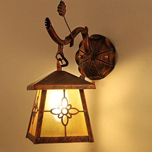 DSJ ijzer retro wandlamp woonkamer eetkamer restaurant gang slaapkamer bedlampje balkon deur voordeur lamp lamp