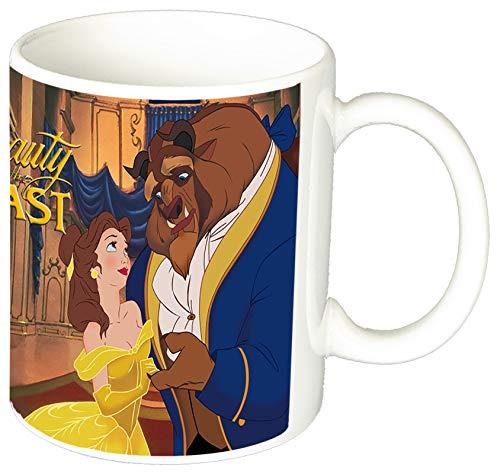 MasTazas La Bella Y La Bestia Beauty and The Beast Disney Taza Ceramica 11 oz ≈ 325 ml