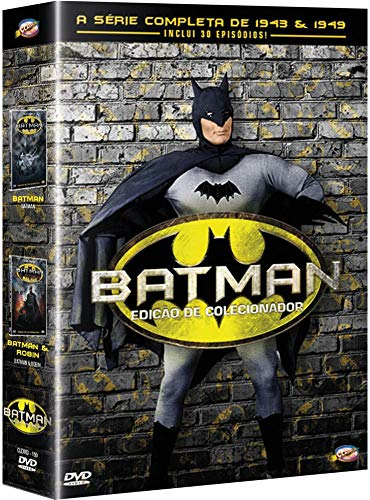 Box Batman - A Série Completa De 1943 E 1949